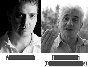 Michel Morin et Frank Hatem