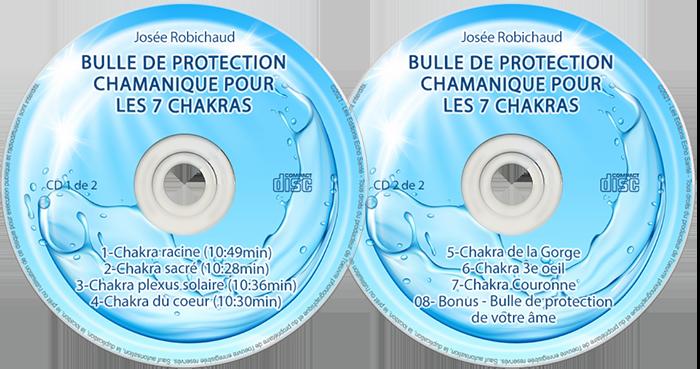 Album Bulle de protection chamanique 7 chakras