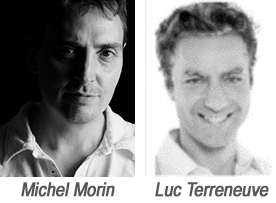 Michel Morin et Luc Terreneuve
