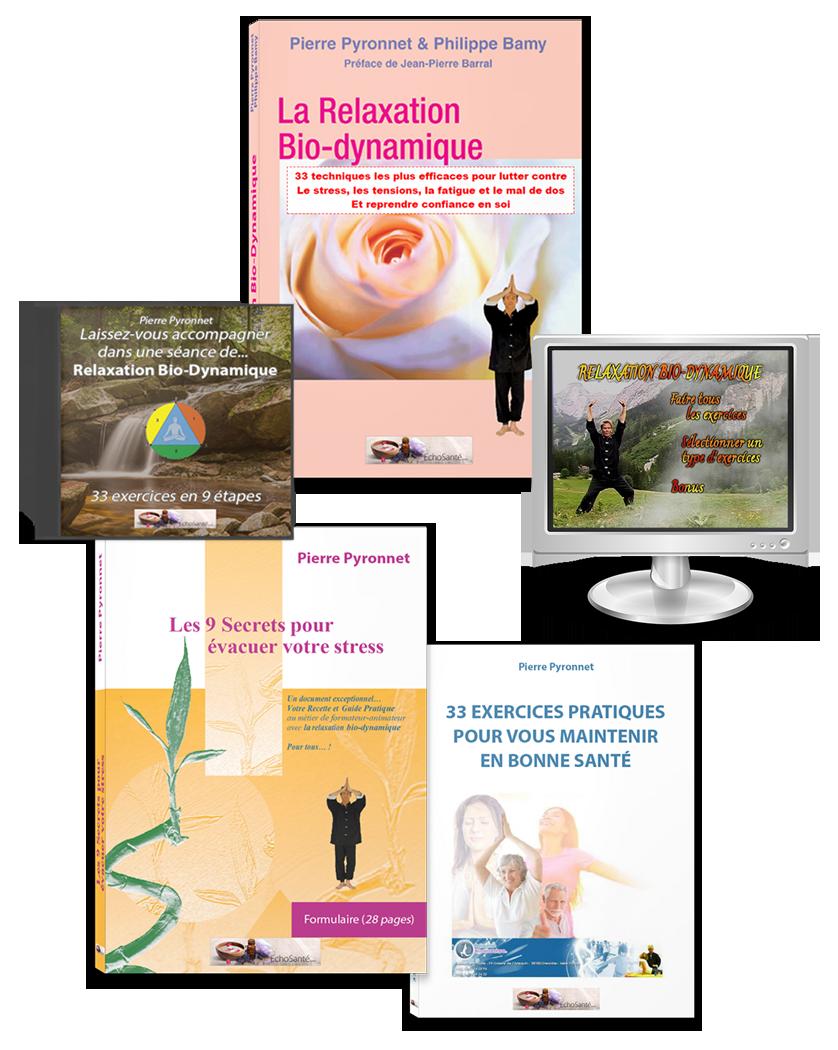 La Relaxation Bio-Dynamique - Le pack
